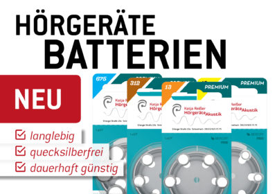 Neue Batterien dauerhaft günstig